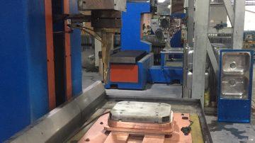class C seam-welding machine